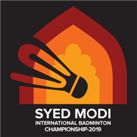 2019 BWF Badminton World Tour Syed Modi International Logo