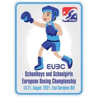 2021 European Schoolboys and Schoolgirls Boxing Championships Logo
