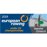 2019 European Rowing U23 Championships Logo