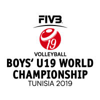 2019 FIVB Volleyball World U19 Boys Championship Logo