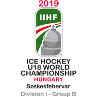 2019 Ice Hockey U18 World Championship Division I B Logo