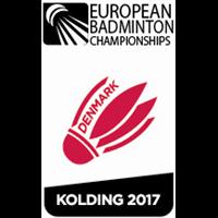 2017 European Badminton Championships Logo
