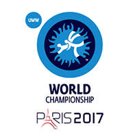 2017 Wrestling World Championships Logo