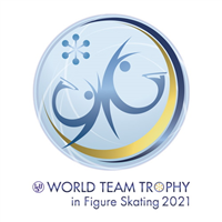 2021 ISU Figure Skating World Team Trophy Logo