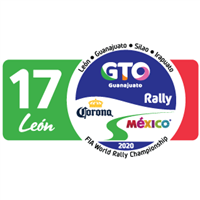 2020 World Rally Championship Rally Guanajuato México Logo