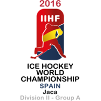 2016 Ice Hockey World Championship Division II A Logo