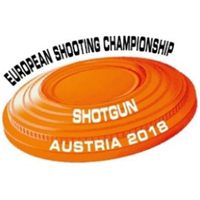2018 European Shooting Championships Shotgun Logo