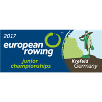 2017 European Rowing Junior Championships Logo