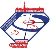 2015 World Mixed Curling Championship Logo