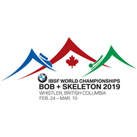 2019 World Bobsleigh Championships 4-Man Logo