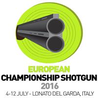 2016 European Shooting Championships Shotgun Logo