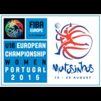 2015 FIBA Europe Under-16 Championship for Women Logo