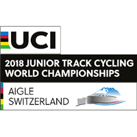 2018 UCI Track Cycling Junior World Championships Logo