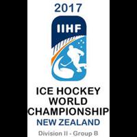 2017 Ice Hockey World Championship Division II B Logo