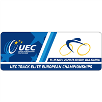 2020 European Track Cycling Championships Logo