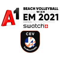 2021 Beach Volleyball European Championships Logo