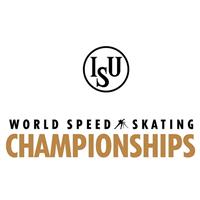 2021 World Speed Skating Championships Logo