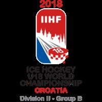 2018 Ice Hockey U18 World Championship Division II B Logo