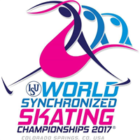 2017 World Synchronized Skating Championships Logo