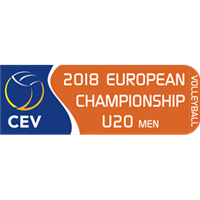 2018 European Volleyball Championship U20 Men Logo