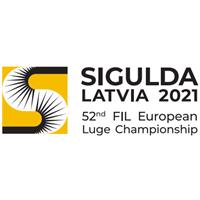 2021 Luge European Championships Logo