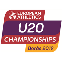 2019 European Athletics U20 Championships Logo