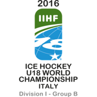 2016 Ice Hockey World U18 Championships Division I B Logo