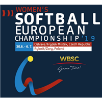 2019 European Softball Women Championship Logo