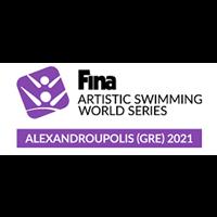 2021 Artistic Swimming World Series Logo