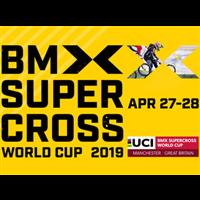 2019 UCI BMX Supercross World Cup Logo