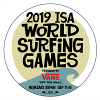 2019 World Surfing Games Logo