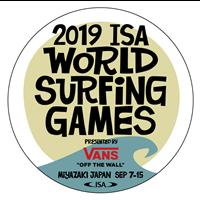 2019 World Surfing Games Logo