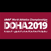 2019 IAAF Athletics World Championships Logo