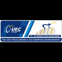 2021 European Track Cycling Junior Championships Logo