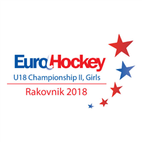 2018 EuroHockey U18 Championships II Girls Logo