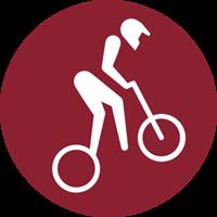 2020 Summer Olympic Games - BMX Racing Logo