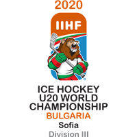 2020 Ice Hockey U20 World Championship Division III Logo