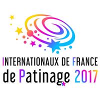 2017 ISU Grand Prix of Figure Skating Internationaux de France Logo