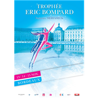 2015 ISU Grand Prix of Figure Skating Trophée Eric Bompard Logo