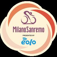 2021 UCI Cycling World Tour - Milan - San Remo Logo