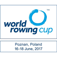 2017 World Rowing Cup II Logo