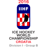 2016 Ice Hockey World Championship Division I B Logo