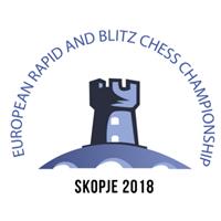 2018 European Rapid and Blitz Chess Championships Logo