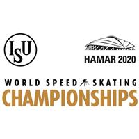 2020 World Speed Skating Championships Logo