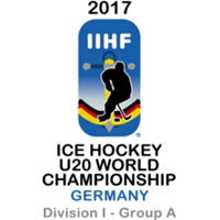 2017 Ice Hockey U20 World Championship Division I A Logo