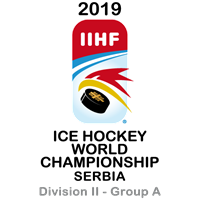 2019 Ice Hockey World Championship Division II A Logo
