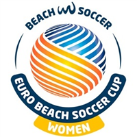 2018 Euro Beach Soccer Cup Women Logo