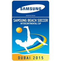 2015 Beach Soccer Intercontinental Cup Logo