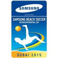 2015 Beach Soccer Intercontinental Cup Logo