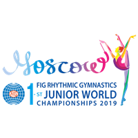2019 Rhythmic Gymnastics Junior World Championships Logo